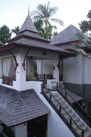 Nakamanda Resort & Spa: The villa from the outside