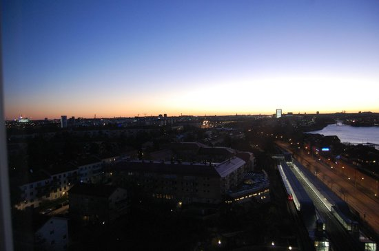 Stay At Stockholm Bromma: view form 16th floor, sunrise