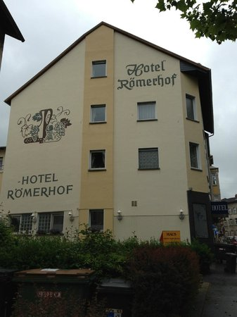 Hotel Römerhof: The excellent Hotel Roemerhof in Bingen