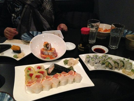 Sushi Village Japanese Cuisine: Our Complete Order