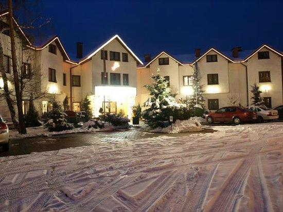 Hotel Relaks: Hotel zimą.
