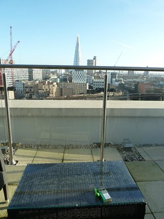 Novotel London Blackfriars: Balcony