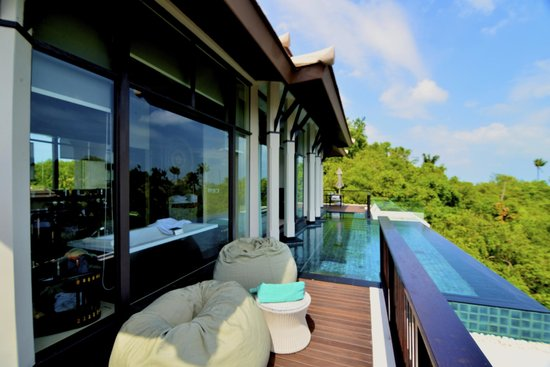 Banyan Tree Samui: from one of the sitting ares