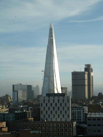 Novotel London Blackfriars: View of The Shard from balcony!