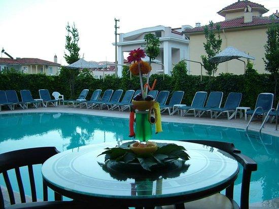 Sevgi Apartments: havuz ve kokteyl