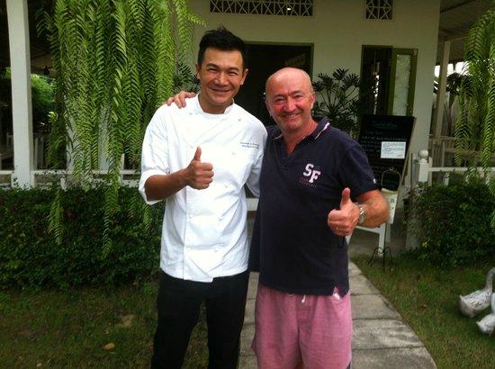 Suay Restaurant: fin des cours de cuisine