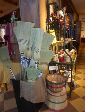 Milburn Orchards: Handmade Brooms from Lancaster Country at Milburns