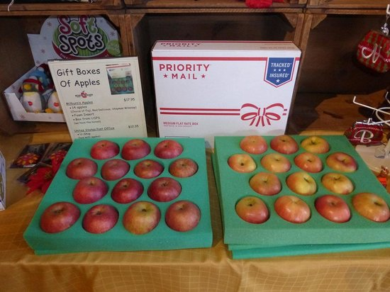 Milburn Orchards: Milburns Ships Apples: Christmas Gift Boxes