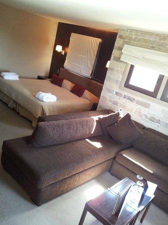 Imago Hotel & Spa: Vista general de la habitación