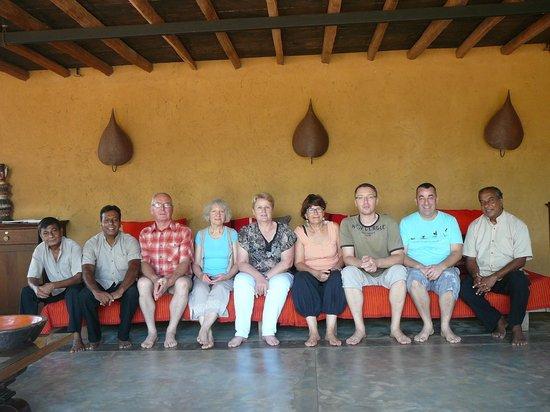Kumbukgaha Villa: Salle à manger