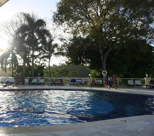 "Grand Bahia Principe Cayacoa: The top half of the ""loud"" pool"