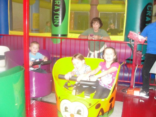 Lollipop Park : this ride just whips you around in a circle, kids love it!