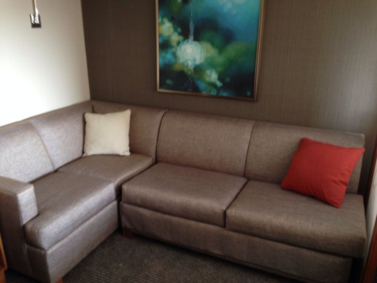 Corner sleeper sofa - Picture of Hyatt Place Nashville ...