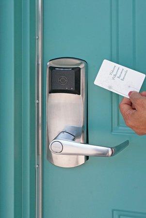 Executive Inn: New RFID Locks