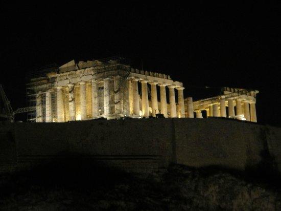 Acropolis View Hotel : vista