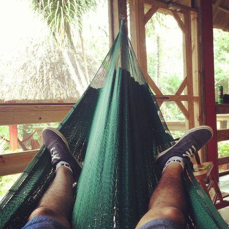 Crystal Paradise Resort: Just a lazy day watching the rain