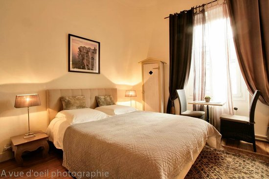 La Villa Chaleemar : chambre Aloé