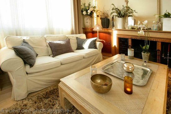 La Villa Chaleemar : salon