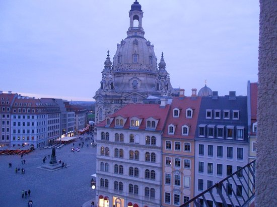 Steigenberger Hotel de Saxe : The view from our room