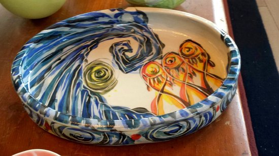 Fiddlehead At Four Corners Pottery Serving Dishes And Platters
