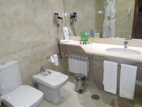 Silken Coliseum Hotel : Baño