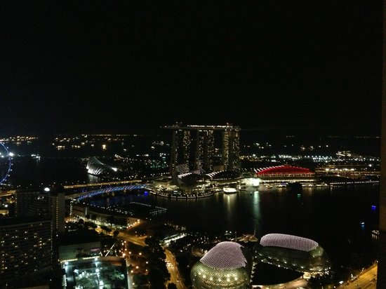 Swissotel The Stamford Singapore: marina bay view