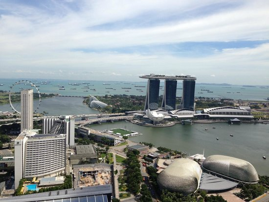 Swissotel The Stamford : marina bay view