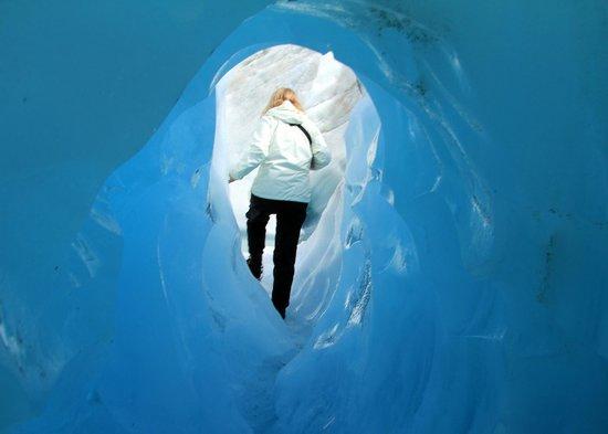 Ice cave, Franz Josef Glacier