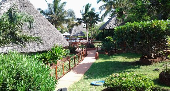 Ras Nungwi Beach Hotel: The view from my villa