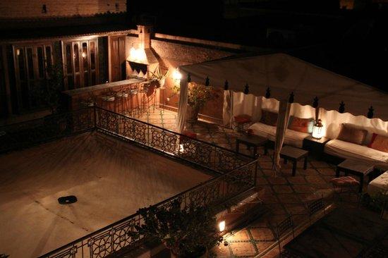 Riad Quenza: Terraza en la azotea