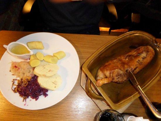 V Kolkovne Restaurant : Ente
