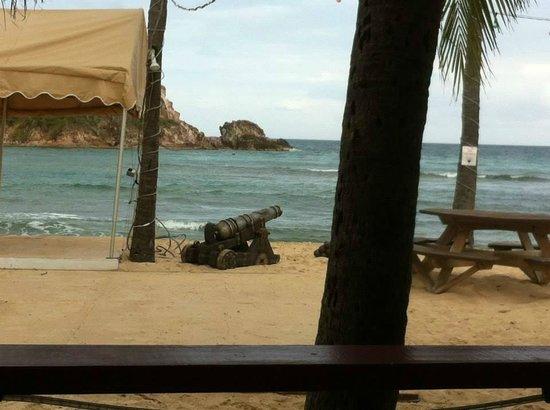 Bolongo Bay Beach Resort: View from Iggie's