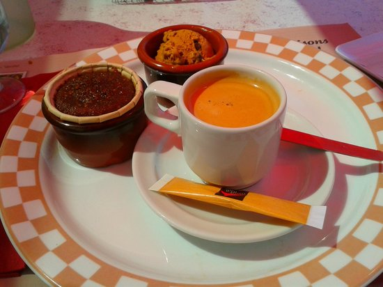 Courtepaille: cafe gourmand