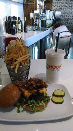 Hook Burger : Hickory burger