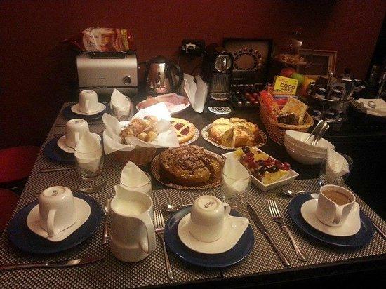 St Peter Guest House: La nostra fantastica colazione