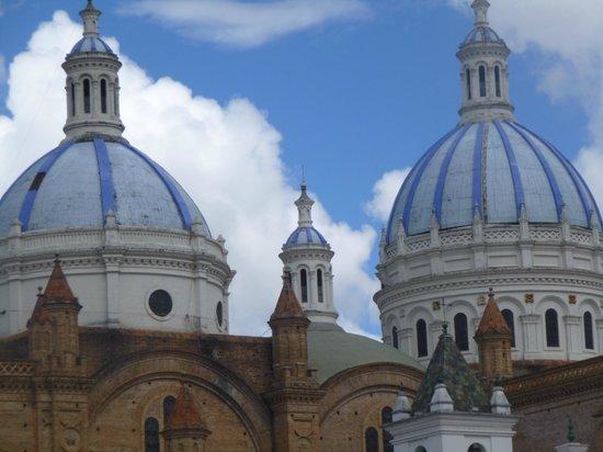 Casa San Rafael: El cielo y las cúpulas de la catedral de Cuenca