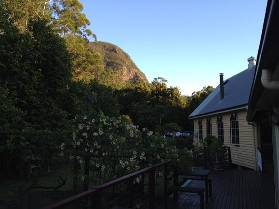 Glass House Mountains Ecolodge : from outside the room