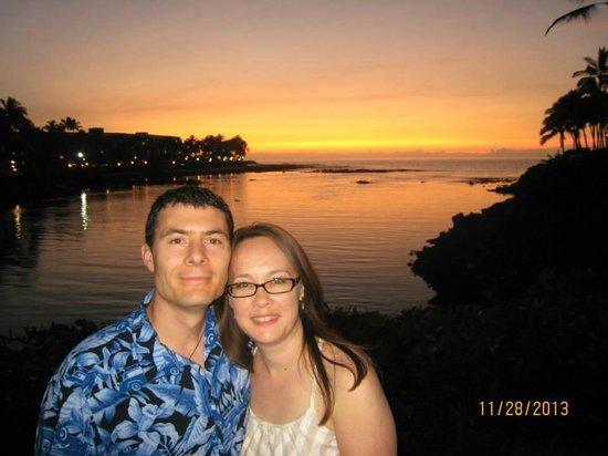 Hilton Waikoloa Village: Amazing sunsets!