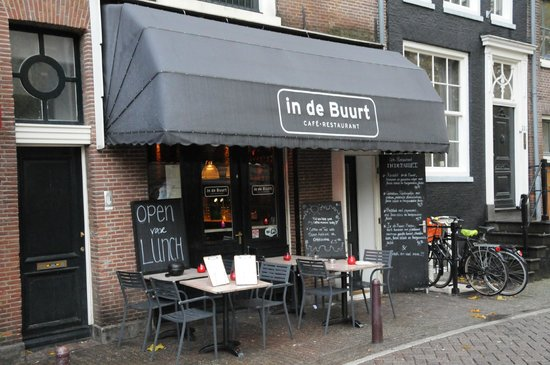 Cafe Restaurant In de Buurt: Entry by Canal