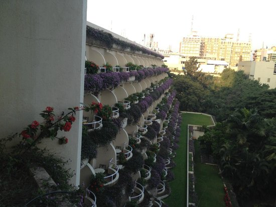 The Oberoi, Bengaluru: View from balcony