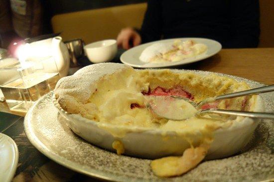 Blaue Gans: Dissapointing Saltzburger Nockerl