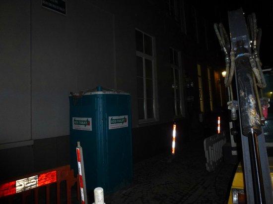 Oud Huis de Peellaert: View from upgraded room