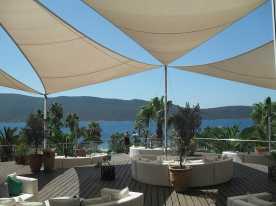 Ersan Resort & Spa: coin terrasse