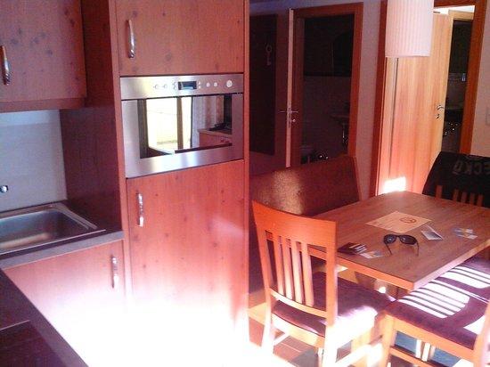 Hotel Garni Alpenjuwel : Küche