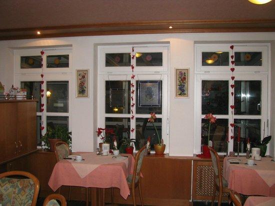 Hotel-Garni Brugger : sala colazioni