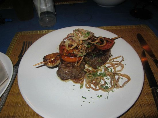 The Bistro: fillet steak with chips and salad - £3.45