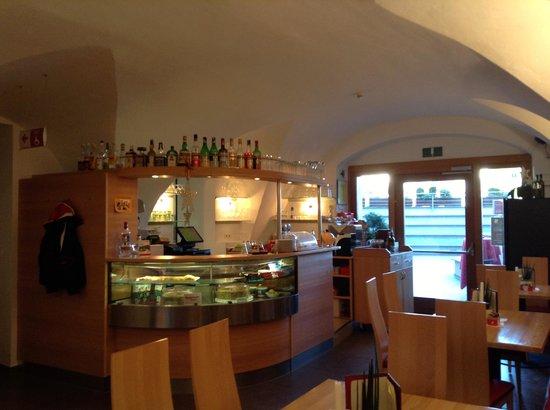Hotel Masatsch : Bar area