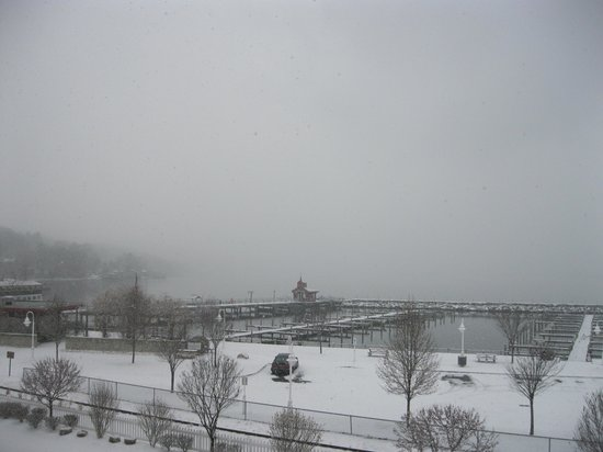 Watkins Glen Harbor Hotel: Seneca Lake view