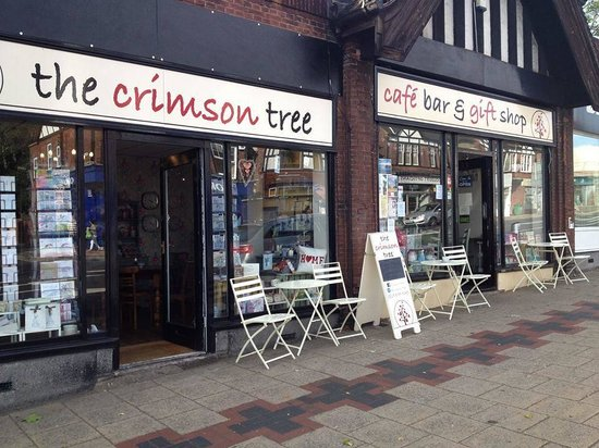 The Crimson Tree : Shop Frontage