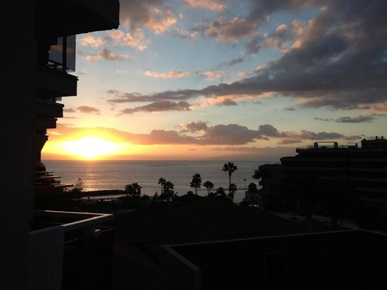 HOVIMA Costa Adeje: view of sunset from room
